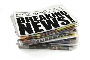breaking news newspaper